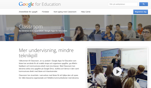 Google Classroom (GAFE)