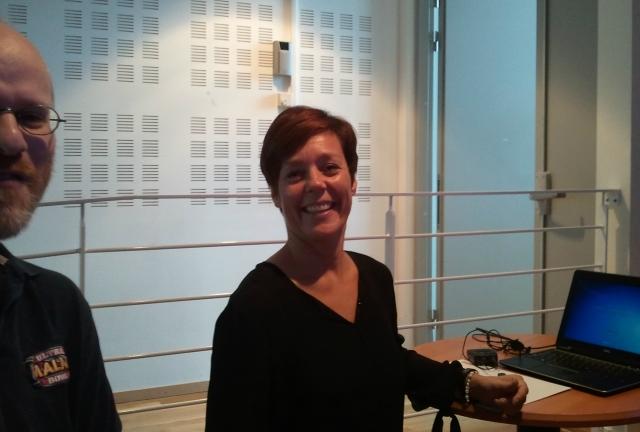Lotta Persson, utvecklingsledare vid Simrishamns kommun